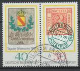 980-981  gestempelt Zusammendruck (BRD)