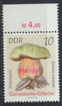 DDR 1934 postfrisch mit Bogenrand oben