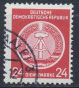 DDR-DI 9 philat. Stempel