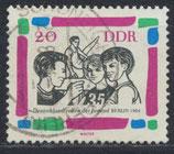 DDR 1023 gestempelt