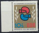 DDR 1100  postfrisch mit Bogenrand links