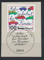 1897 mit Ersttagssonderstempel (BRD)