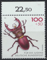 BRD 1668 postfrisch mit Bogenrand oben