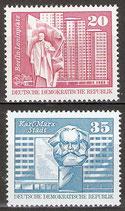 1820-1821 postfrisch (DDR)