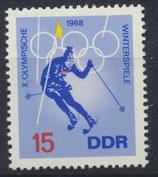 DDR 1337 postfrisch