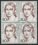 1305  gestempelt Viererblock (BRD)