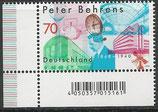 BRD 3373  postfrisch mit Eckrand links unten