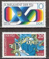 2133-2134 postfrisch (DDR)