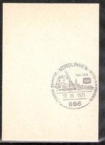 Sonderstempel 886 Nördlingen (EB-SS-0008)