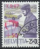 1358 gestempelt (CH)