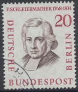BERL 167 gestempelt