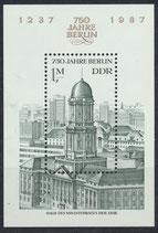 DDR Block 84   3027 postfrisch