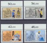 780-783 postfrisch Bogenrand oben (BERL)