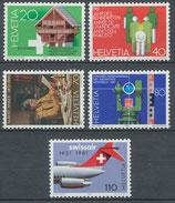 1191-1195 postfrisch (CH)