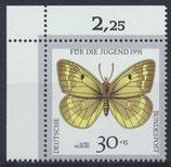 BRD 1512 postfrisch mit Eckrand links oben