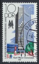 DDR 2498 philat. Stempel