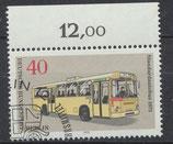 BERL 451 gestempelt mit Bogenrand oben (RWZ 12,00)