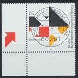 BRD 2287 gestempelt mit Eckrand links unten