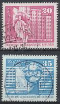 DDR 1820-1821  gestempelt