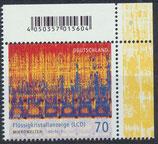 BRD 3427 postfrisch mit Eckrand rechts oben