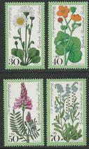 556-559  postfrisch  (BERL)