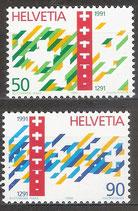 1421-1422 postfrisch (CH)