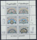 DDR 3057-3062 postfrisch Kleinbogen