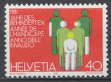 CH 1192 postfrisch
