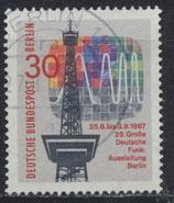 BERL  309 gestempelt