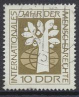 DDR 1369  philat. Stempel