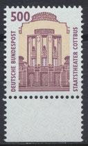 BRD 1679 postfrisch mit Bogenrand unten