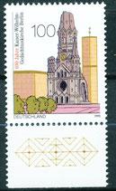 1812 postfrisch Bogenrand unten (BRD)