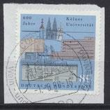 BRD 1370 gestempelt auf Briefstück