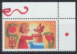 BRD 3185  postfrisch mit Eckrand rechts oben