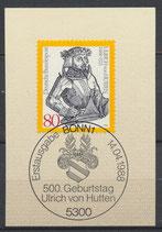 BRD 1364  mit Ersttagsonderstempel