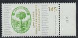 BRD 3328 postfrisch mit Bogenrand rechts