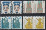 BRD 1398-1401 postfrisch waagrechte Paare