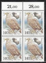 1542 postfrisch Viererblock (DE)