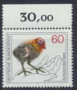 BRD 1102 postfrisch mit  Bogenrand oben