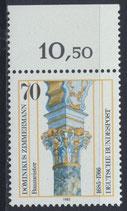 BRD 1251 postfrisch mit Bogenrand oben