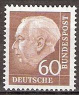 262x postfrisch (BRD)