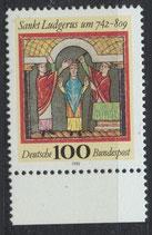 BRD 1610 postfrisch mit Bogenrand unten