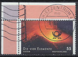 BRD 2853 gestempelt mit Eckrand rechts oben
