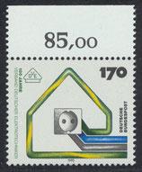 BRD 1648 postfrisch mit Bogenrand oben