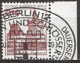 BERL 589 gestempelt Bogenrand rechts