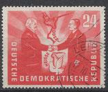 DDR 284 gestempelt