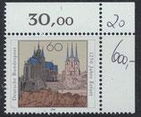 BRD 1611  postfrisch mit Eckrand rechts oben