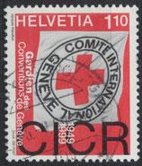 CH 1689 gestempelt