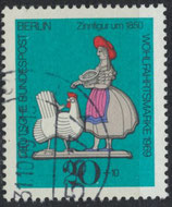 BERL  349 gestempelt