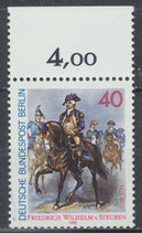 BERL 628 postfrisch mit Bogenrand oben (RWZ 4,00)